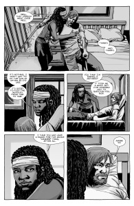 The Walking Dead #126- Rick and Michonne talk