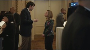Detroit- Jonah talks with Mina Houkenen about Selina's gun remark