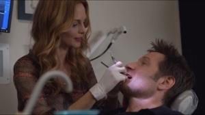 Dicks- Julia works on Hank's teeth