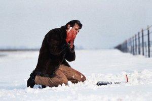 Fargo film- Carl buries money