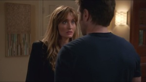 Getting the Poison Out- Karen shows up to confront Hank about him ducking her's and Becca's calls