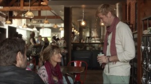 Levon- Hank meets Chris and Karen at coffee shop