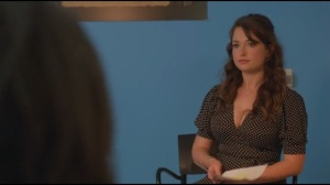 Like Father, Like Son- Milana Vayntrub as woman auditioning for crack whore role