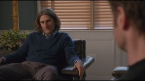 Like Father, Like Son- Rath asks Hank if he fingered the actress