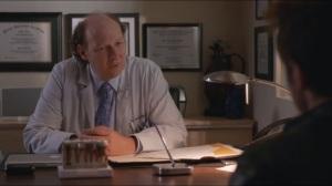 Smile- Hank speaks with Dr. Daniel Allen, DDS, played by Dan Bakkedahl
