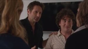 Smile- Hank tells Rath that Levon would like to audition for a role on Santa Monica Cop