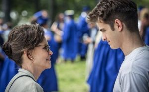 The Amazing Spider-Man 2- Aunt May and Peter at graduation