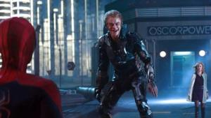The Amazing Spider-Man 2- Harry arrives between Peter and Gwen