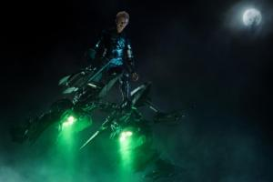 The Amazing Spider-Man 2- Harry as Green Goblin