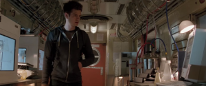The Amazing Spider-Man 2- Peter in secret lab in Roosevelt Station