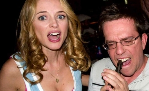 The Hangover- Heather Graham and Ed Helms