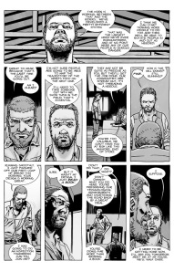 The Walking Dead #127- Eugene reports back to Rick