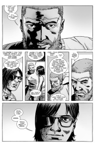 The Walking Dead #127- Rick and Carl have a talk