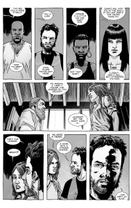 The Walking Dead #127- Rick meets Magna and survivors
