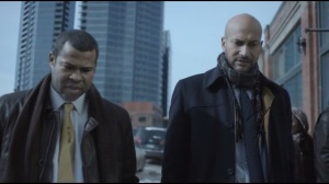 Who Shaves the Barber- Jordan Peele and Keegan-Michael Key as Federal agents Bill Budge and Webb Pepper