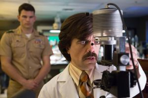 X-Men Days of Future Past- Bolivar Trask, played by Peter Dinklage, with a young William Stryker
