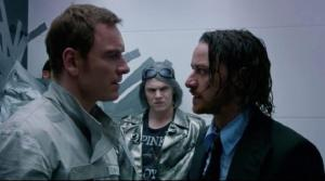 X-Men Days of Future Past- Erik, Peter and Charles
