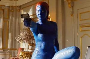 X-Men Days of Future Past- Mystique prepared to assassinate Trask