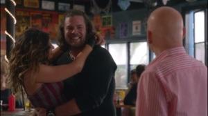 Daughter- Lisa's boyfriend, Mark, shows up