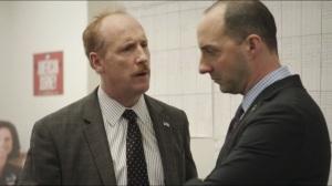 Debate- Mike tells Gary that he hates Selina's new hairdo