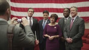 Debate- Presidential candidates team photo