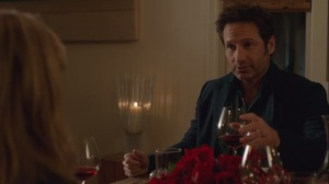 Dinner with Friends- Hank confesses that he didn't cook dinner
