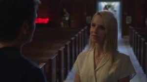 Faith, Hope, Love- Hank with woman in hospital chapel