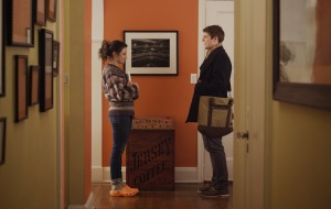 Obvious Child- Donna learns that Max is her mother's student