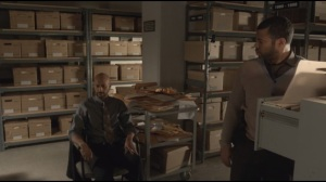 The Heap- Budge and Pepper still in file room