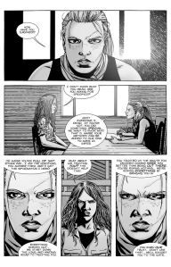 The Walking Dead #128- Andrea speaks with Magna