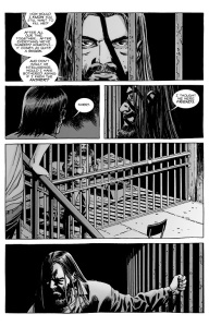 The Walking Dead #128- Carl and Negan