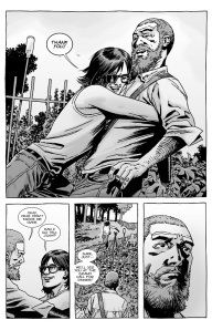 The Walking Dead #128- Carl is glad that Rick is letting him go to the Hilltop