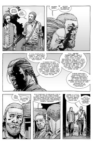The Walking Dead #128- Eugeue talks to Rick about Rosita