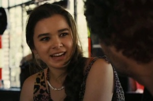 Begin Again- Dan's daughter, Violet, played by Hailee Steinfeld