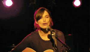 Begin Again- Keira Knightley sings