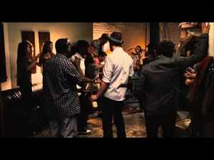 Begin Again- Party scene