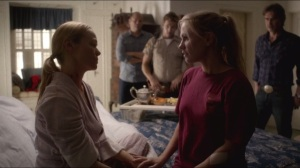 Death is Not the End- Sookie tries to get Holly to remember