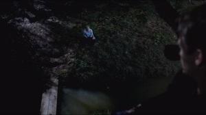 Fire in the Hole- Sookie as bait, Bill in a tree