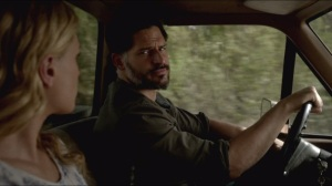 I Found You- Alcide and Sookie on the ride back