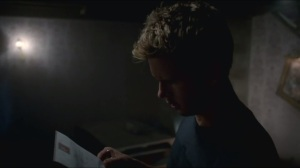 Karma- Jason finds Violet's letter