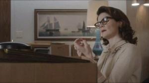 Kyrie Eleison- Bill's new secretary, Barbara Sanderson, played by Betty Brandt