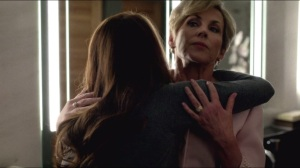 Lost Cause- Sarah and her mother, Nancy, played by Bess Armstrong