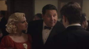 Parallax- Betty and Gene, Annaleigh Ashford and Greg Grunberg, run into Bill at the gala