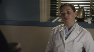 Parallax- Dr. DePaul finds it sad that no one thinks her black eye came from a jealous lover