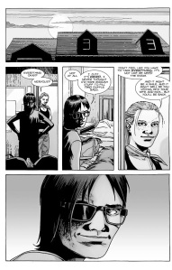 The Walking Dead #129- Carl and Andrea