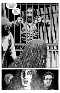 The Walking Dead #129- Magna and her survivors meet Negan