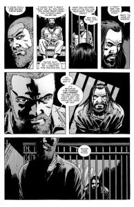 The Walking Dead #129- Rick and Negan Talk