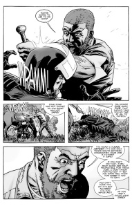The Walking Dead #129- Rick attacks Benjamin