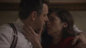 Blackbird- Bill and Virginia share a tender moment