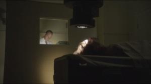 Blackbird- Lillian undergoes radiation through Gibb, played by Doug Tompos